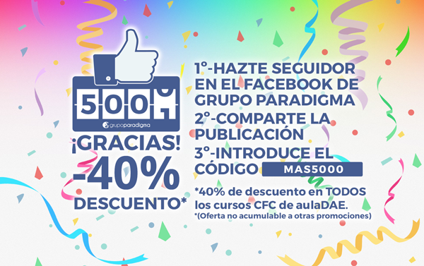 Pop-Up Más de 5000 seguidores Promo